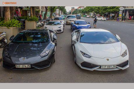 Minh Nhua mang sieu xe McLaren 16 ty 'do suc' Lamborghini - Anh 1