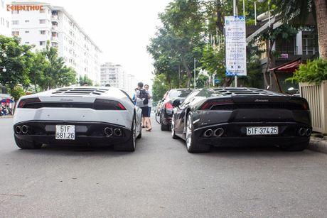 Minh Nhua mang sieu xe McLaren 16 ty 'do suc' Lamborghini - Anh 4