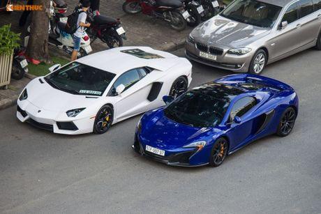 Minh Nhua mang sieu xe McLaren 16 ty 'do suc' Lamborghini - Anh 5