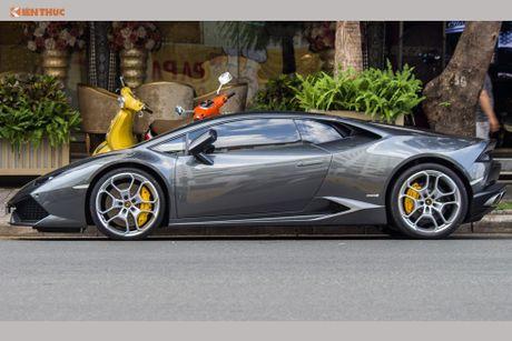 Minh Nhua mang sieu xe McLaren 16 ty 'do suc' Lamborghini - Anh 8