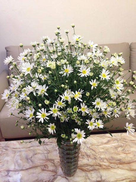 Xem chi em Ha Thanh cam cuc hoa mi ruc ro mot goc nha - Anh 3