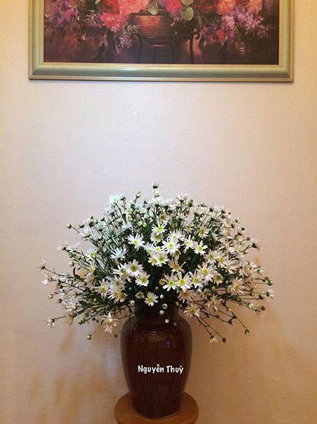 Xem chi em Ha Thanh cam cuc hoa mi ruc ro mot goc nha - Anh 7