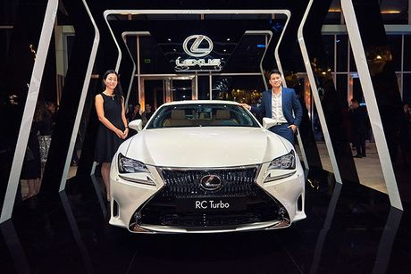 Ve Viet Nam, Lexus RC 2017 chot gia 3 ty dong - Anh 1