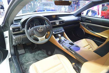 Ve Viet Nam, Lexus RC 2017 chot gia 3 ty dong - Anh 4