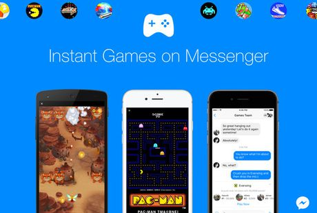 Facebook Messenger ho tro choi game ngay tren cong cu chat - Anh 1