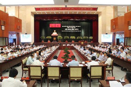 Khai mac Hoi nghi lan thu 8 Ban Chap hanh Dang bo TP HCM khoa X - Anh 1