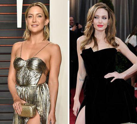 Nguoi dep dinh tin don ngoai tinh voi Brad Pitt duoc cho la sanh ngang voi Angelina - Anh 3