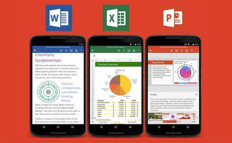 Microsoft cap nhat ung dung van phong cho Android - Anh 1