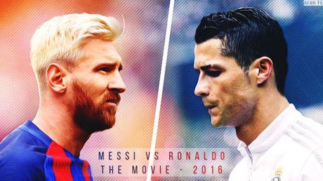 C.Ronaldo va Messi doi dau trong tran Sieu kinh dien tai Nou Camp - Anh 2