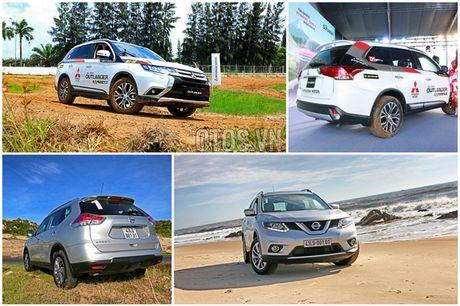 So sanh hai tan binh Nissan X-Trail va Mitsubishi Outlander - Anh 3