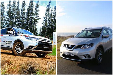 So sanh hai tan binh Nissan X-Trail va Mitsubishi Outlander - Anh 5