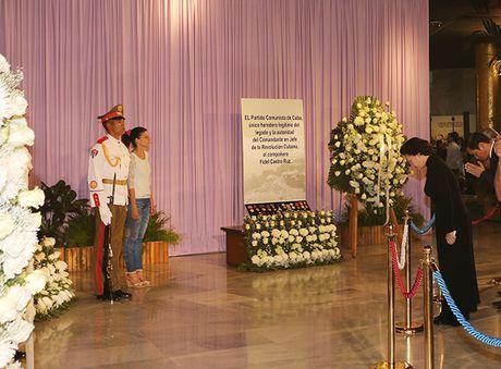 Toan van bai phat bieu cua CTQH Nguyen Thi Kim Ngan tai Le tuong niem Lanh tu Cuba Fidel Castro - Anh 1