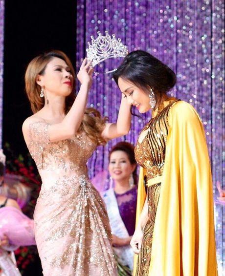 Thanh Thao lam giam khao cuoc thi hoa hau tai My - Anh 1
