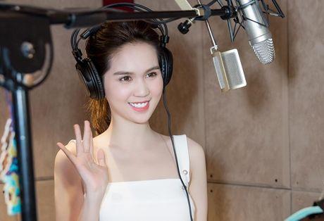 Ngoc Trinh long tieng cho phim hoat hinh 'Dau truong am nhac' - Anh 4