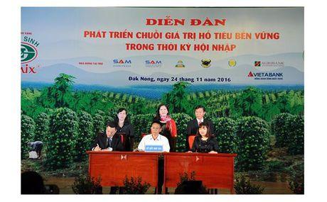 VietABank tai tro goi vay 500 ty ho tro trong ho tieu tai Dak Nong - Anh 1
