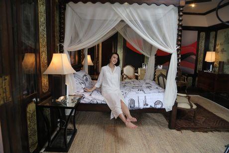 Angela Phuong Trinh khoe dang voi bikini o dao Tuan Chau - Anh 7