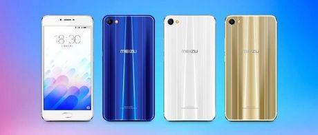Meizu M3X chinh thuc ra mat: chip Helio P20, RAM 4 GB, mat lung kinh 2.5D - Anh 1