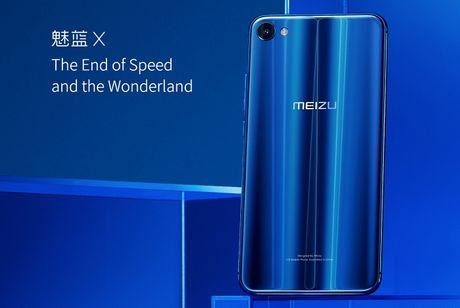 Meizu M3X chinh thuc ra mat: chip Helio P20, RAM 4 GB, mat lung kinh 2.5D - Anh 2