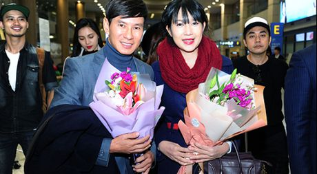 Ly Hai lai sang tham du le trao giai 'Korea Culture & Global Entertainment' - Anh 1