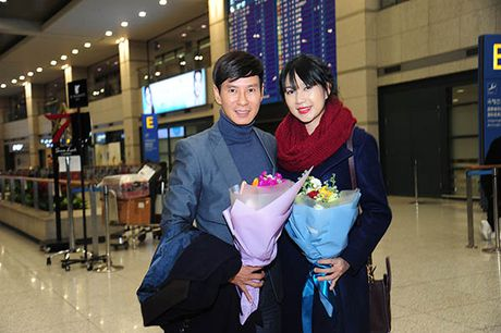 Ly Hai lai sang tham du le trao giai 'Korea Culture & Global Entertainment' - Anh 2