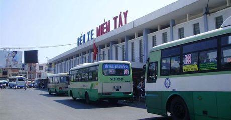 TP.HCM: Di doi ben xe Mien Tay de xay trung tam thuong mai - Anh 1