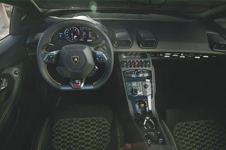 Lamborghini Huracan LP580-2 Spyder chot gia tu 26 ty khi ve Viet Nam - Anh 5