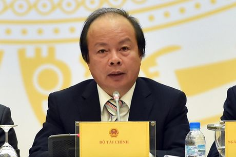 Bo Tai chinh: Day manh che do khoan, giam manh dau xe cong - Anh 1
