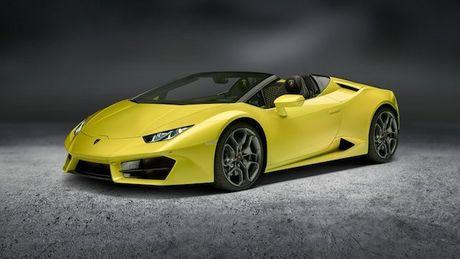 Sieu xe Lamborghini Huracan LP 580-2 Spyder gia tu 26 ty dong neu ve Viet Nam - Anh 1