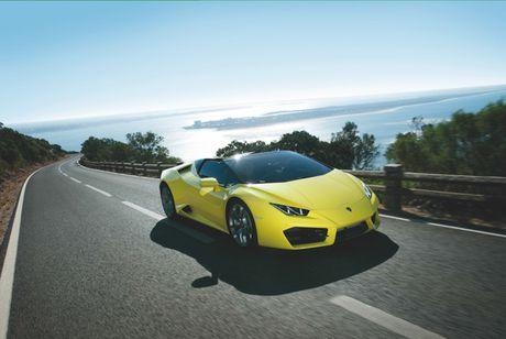 Sieu xe Lamborghini Huracan LP 580-2 Spyder gia tu 26 ty dong neu ve Viet Nam - Anh 2