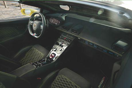 Sieu xe Lamborghini Huracan LP 580-2 Spyder gia tu 26 ty dong neu ve Viet Nam - Anh 4