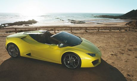 Sieu xe Lamborghini Huracan LP 580-2 Spyder gia tu 26 ty dong neu ve Viet Nam - Anh 5