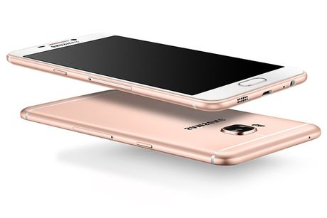 Galaxy C7 Pro lo cau hinh camera truoc - sau 16MP - Anh 1