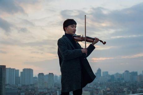 Nghe si violin Hoang Rob ra mat 'Hung Dong' - Anh 1