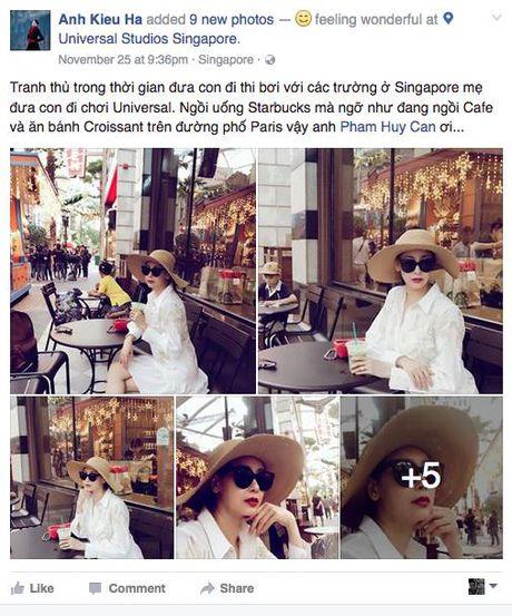 Hoa hau Ha Kieu Anh sung suong nhu ba hoang,1 tuan di du lich 3 quoc gia - Anh 5