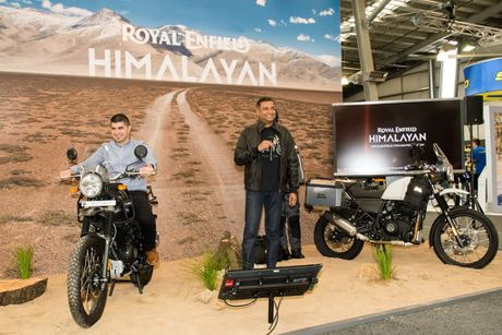 Mo to co dien Royal Enfield Himalaya co gia 5.207 USD - Anh 2