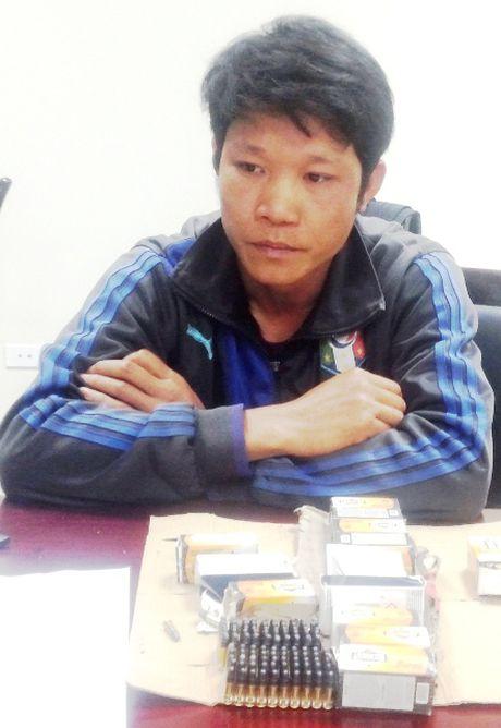 Quang Binh: Bat doi tuong van chuyen 700 vien dan qua bien gioi - Anh 1
