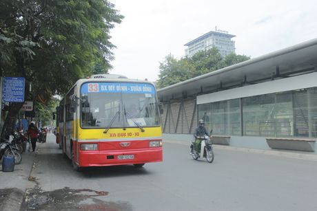 Can canh tuyen buyt nhanh BRT sap dua vao hoat dong o Ha Noi - Anh 11