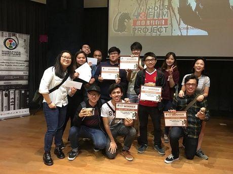 Sinh vien Viet Nam thu thach lam phim danh cho sinh vien tai Singapore - Anh 1