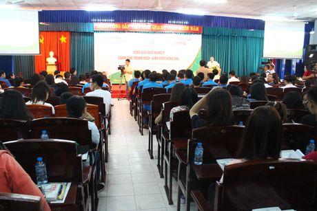 Hon 400 sinh vien tham gia 'khoi nghiep' tai Dong Nai - Anh 1