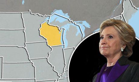 Ba Clinton de nghi kiem lai 3 trieu phieu bau bang tay - Anh 1
