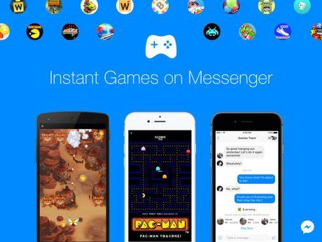Facebook cung cap game tren Facebook Messenger - Anh 1