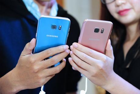 Samsung ky vong vao S7 Blue Coral dip cuoi nam - Anh 1