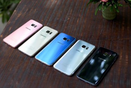 Samsung ky vong vao S7 Blue Coral dip cuoi nam - Anh 2