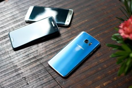 Samsung ky vong vao S7 Blue Coral dip cuoi nam - Anh 3