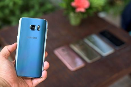 Samsung ky vong vao S7 Blue Coral dip cuoi nam - Anh 4