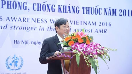Bao dong:Viet Nam thuoc nhom cac nuoc co ty le khang thuoc khang sinh cao tren the gioi - Anh 1