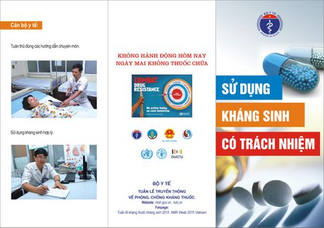 Bao dong:Viet Nam thuoc nhom cac nuoc co ty le khang thuoc khang sinh cao tren the gioi - Anh 2