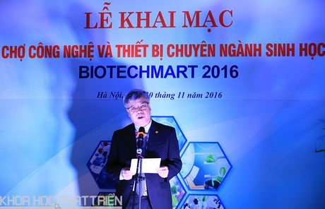 Biotechmart 2016: Nhieu ket qua nghien cuu ve sinh hoc duoc trung bay - Anh 1