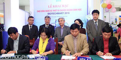 Biotechmart 2016: Nhieu ket qua nghien cuu ve sinh hoc duoc trung bay - Anh 7