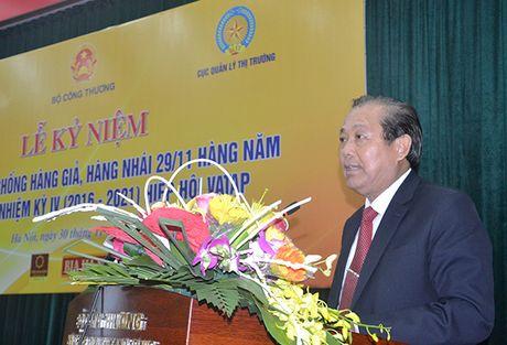 Pho Thu tuong Truong Hoa Binh: Truy quet, danh lien tuc vao cac 'o' hang gia, hang nhai - Anh 1